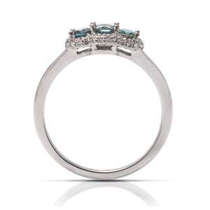 Alexandrite and Diamond Ring - Charles Koll Jewellers