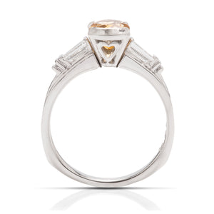 Citrine and Diamond Ring - Charles Koll Jewellers