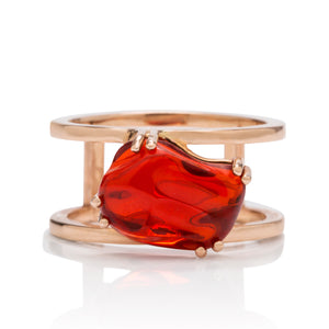 Double Band Mexican Fire Opal - Charles Koll Jewellers