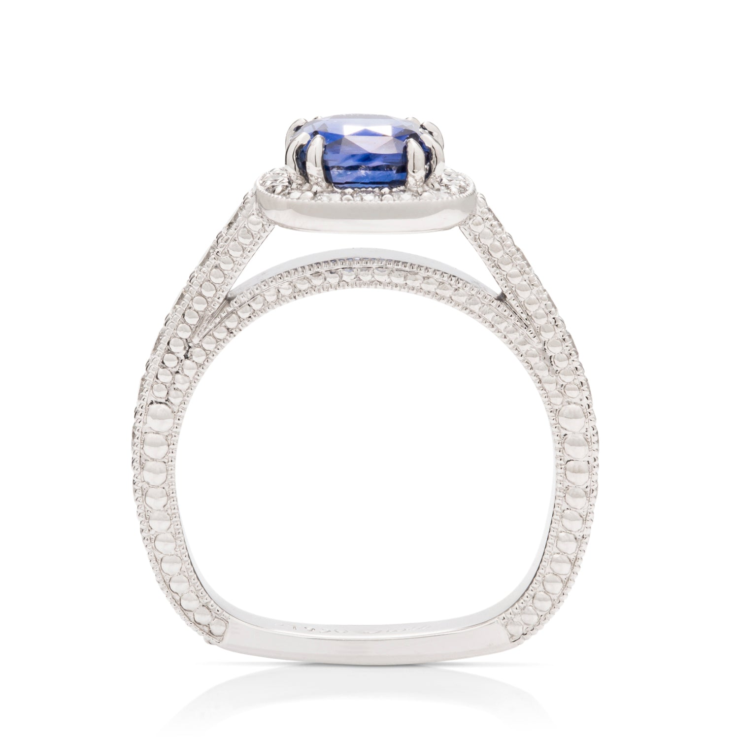 Sapphire and Diamond Ring - Charles Koll Jewellers