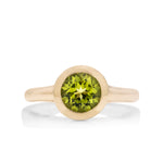 Peridot Golden Ring - Charles Koll Jewellers