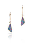 Australian Opal Doublet Drop Earrings - Charles Koll Jewellers