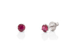 Ruby Stud Earrings - Charles Koll Jewellers