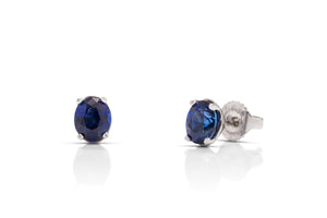 Sapphire Stud Earrings - Charles Koll Jewellers