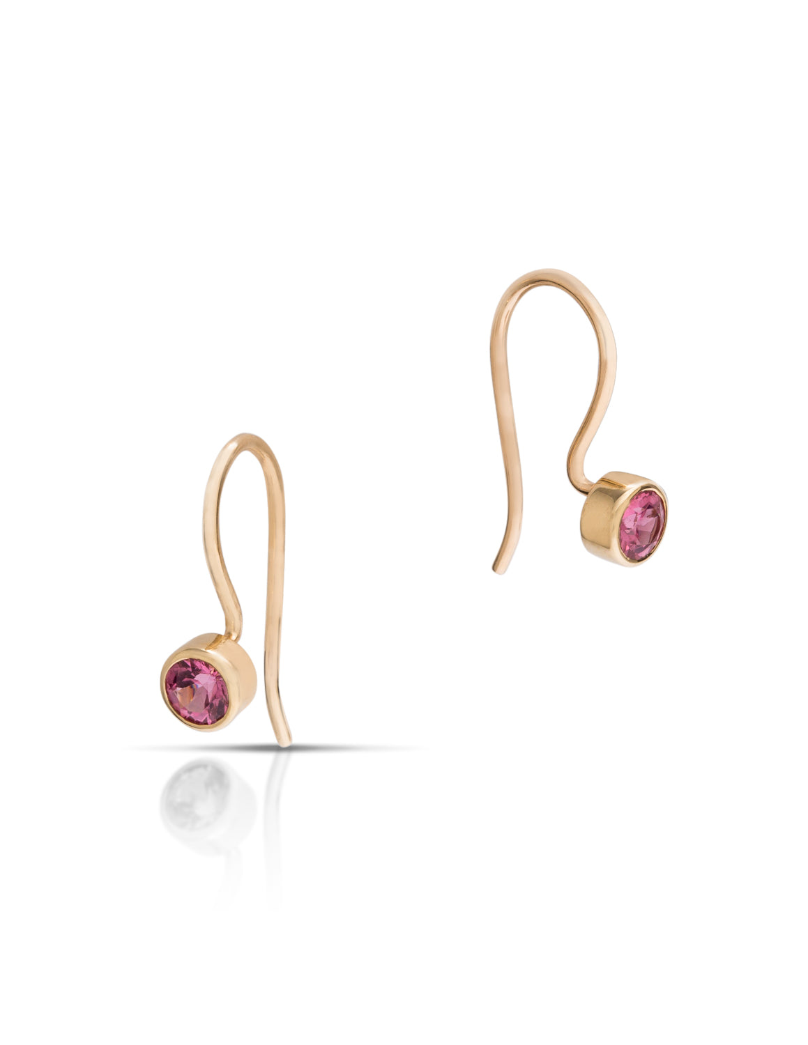 Pink Spinel Earrings - Charles Koll Jewellers