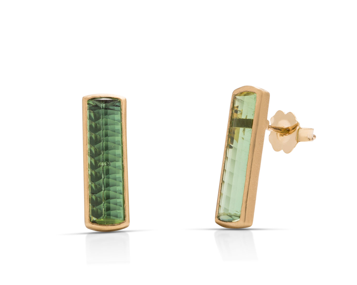 Tourmaline Stud Earrings - Charles Koll Jewellers