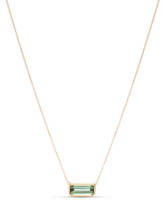 Tourmaline Bezel Necklace - Charles Koll Jewellers