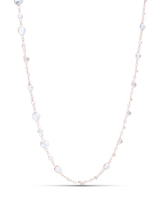 White Topaz By The Yard Necklace - Charles Koll Jewellers