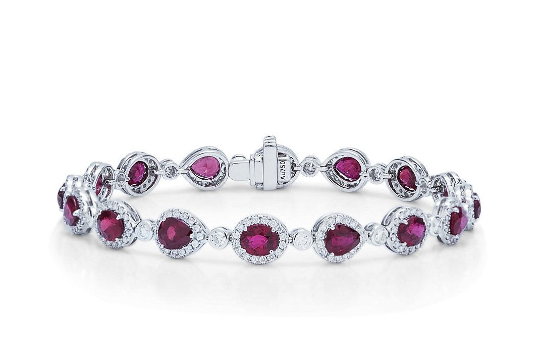 Ruby and Diamond Bracelet - Charles Koll Jewellers