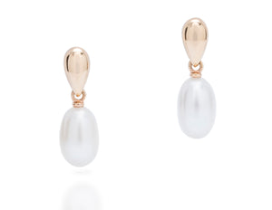 Pearl Drop Earrings - Charles Koll Jewellers