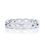 White Gold Infinity Band - Charles Koll Jewellers