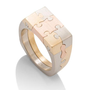 Puzzle Men's Ring - Charles Koll Jewellers