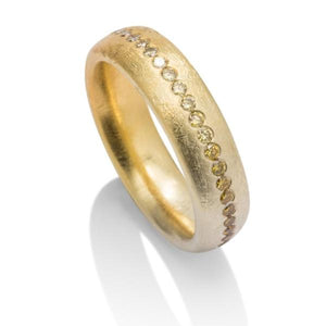 Color Change Yellow Diamond Band - Charles Koll Jewellers