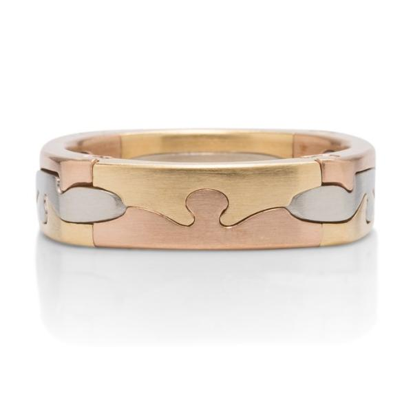 Men's Puzzle Ring - Charles Koll Jewellers