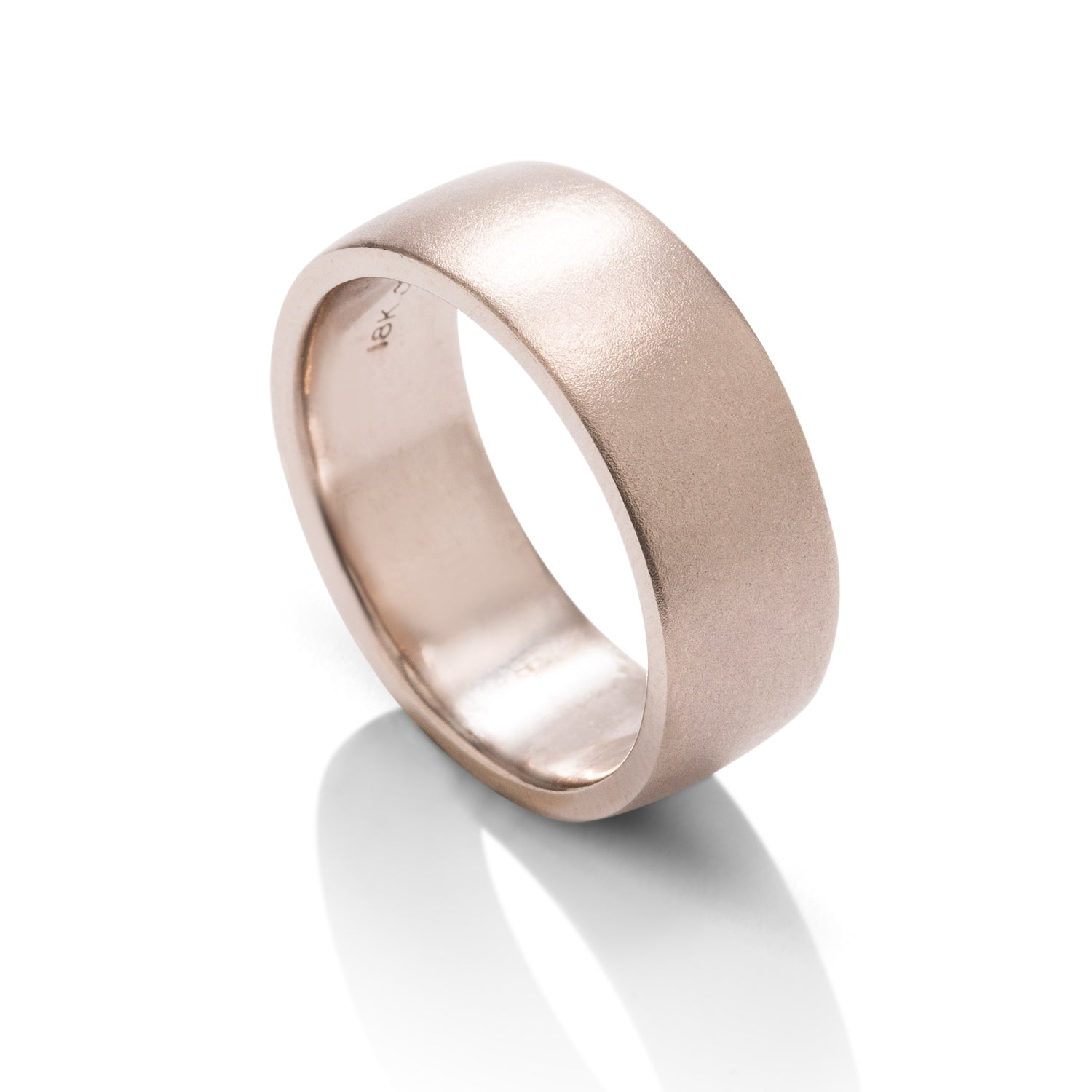 Satin Finish Men's Band - Charles Koll Jewellers