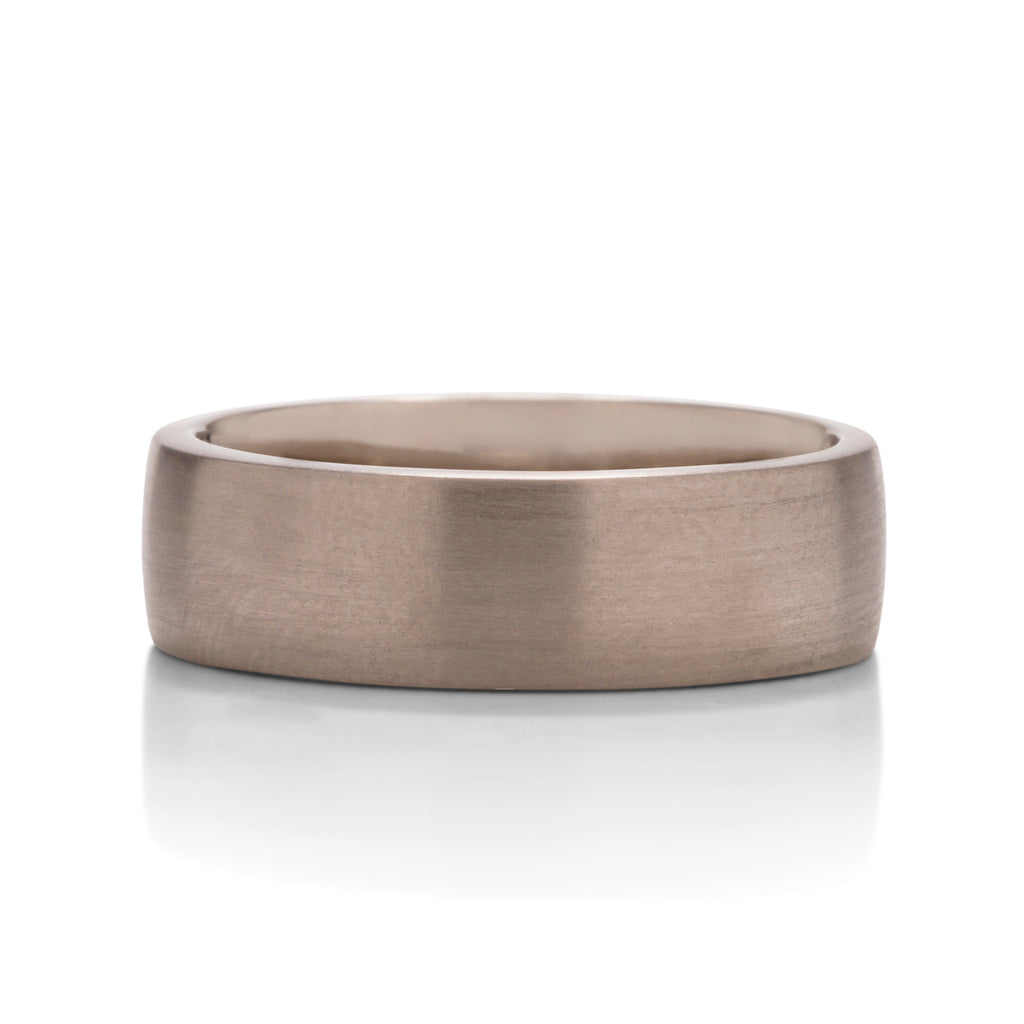 Grey Gold Euro-Fit Men's Band - Charles Koll Jewellers