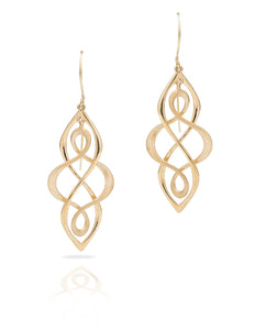 Infinity Dangle Earrings - Charles Koll Jewellers