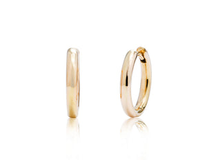 Small Hoop Earring - Charles Koll Jewellers
