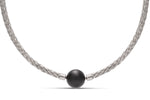 Stainless Steel Twisted Cable Necklace - Charles Koll Jewellers