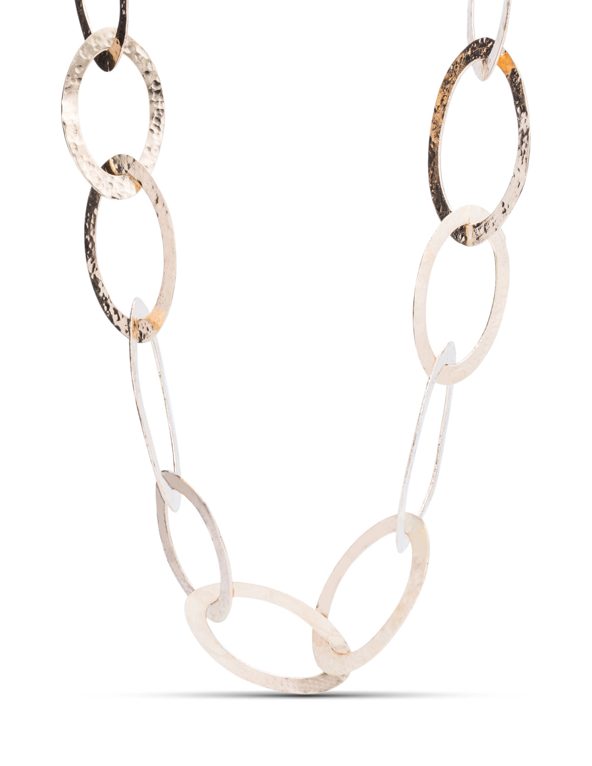 Forged Gold Necklace - Charles Koll Jewellers