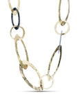 Forged Gold Chain Necklace - Charles Koll Jewellers
