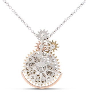 Steam Punk Moon Phase Pendant - Charles Koll Jewellers