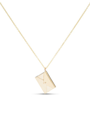 Yellow Gold Love Letter - Charles Koll Jewellers
