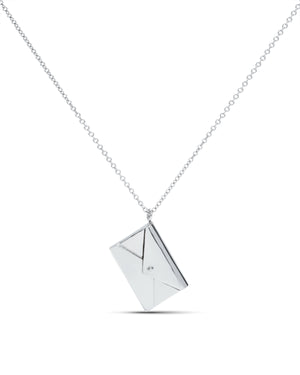 White Gold Love Letter - Charles Koll Jewellers