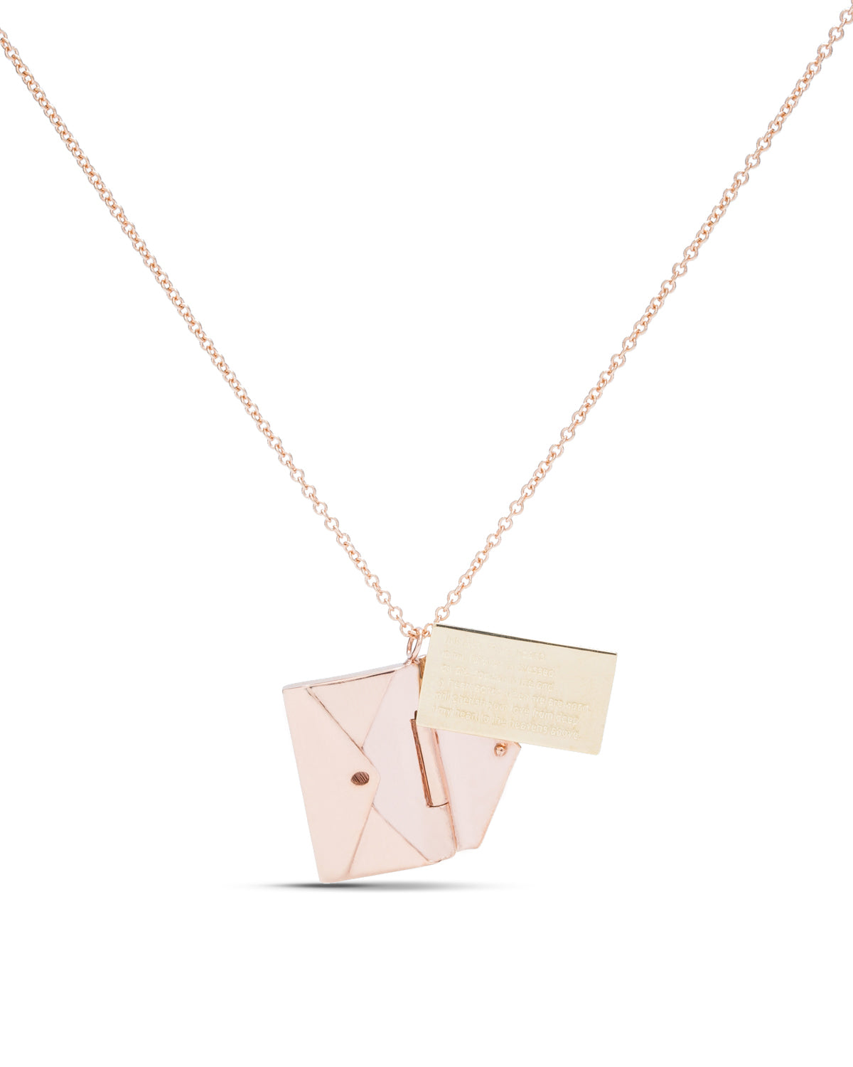 Rose Gold Love Letter - Charles Koll Jewellers