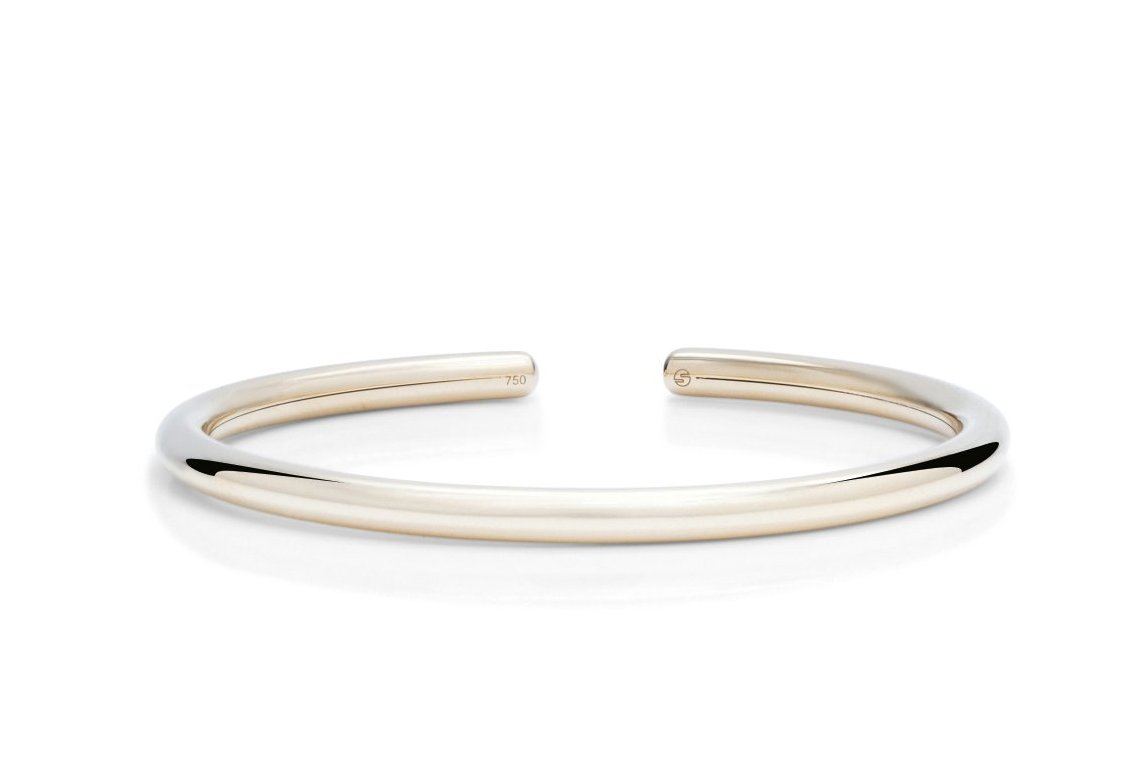 Yellow Gold Flex Bangle - Charles Koll Jewellers