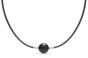 Grey Leather Heinz Necklace - Charles Koll Jewellers