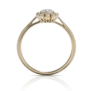 Diamond Bezel Ring - Charles Koll Jewellers