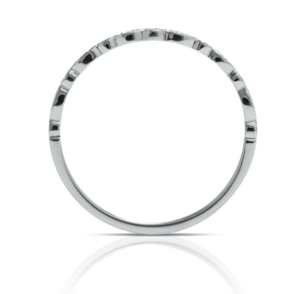 Skinny White Gold Wedding Band - Charles Koll Jewellers