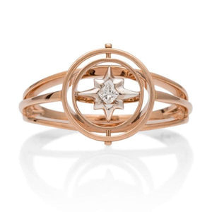 small Astrolabe Ring - Charles Koll Jewellers