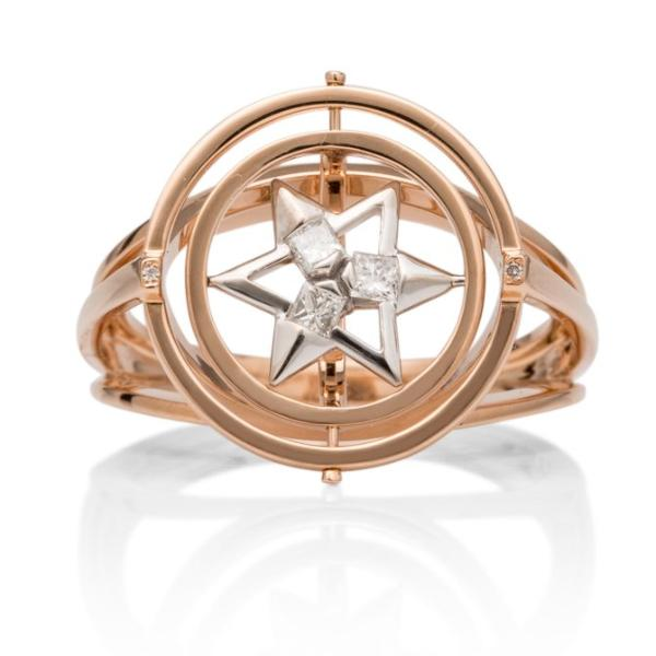 Large Astrolabe Ring - Charles Koll Jewellers