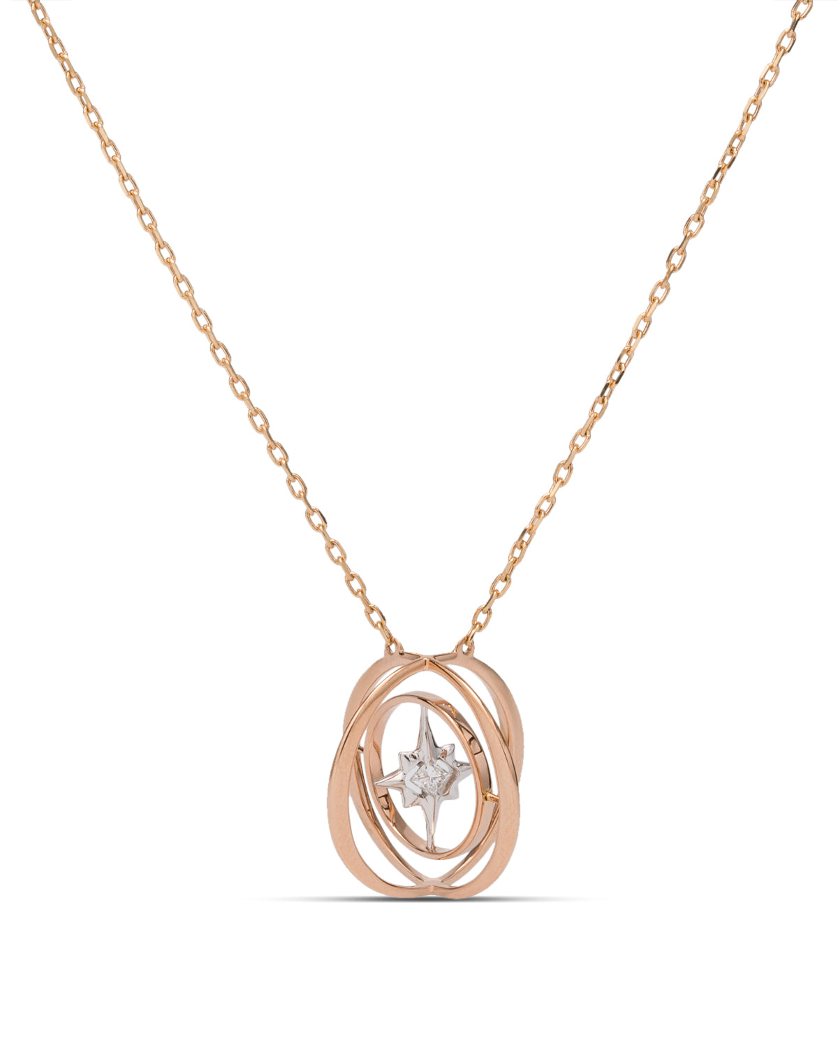 Small Astrolabe Pendant - Charles Koll Jewellers