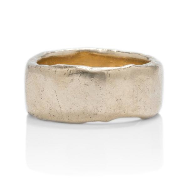 Hand Forged Men's Band - Charles Koll Jewellers