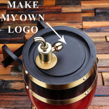 Best Groomsmen Gifts, Best Man Gift Ideas, Whiskey Barrel - Engravedideas