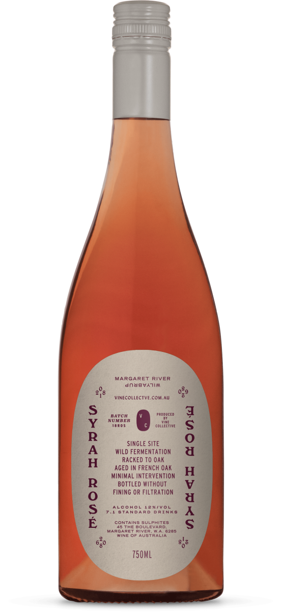 2018 Vine Collective Syrah Rosé