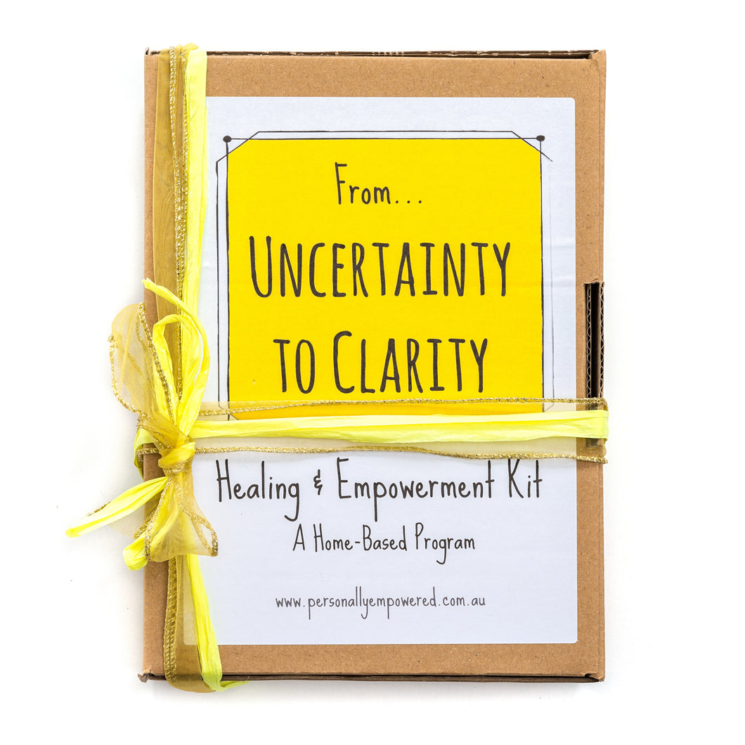 From Uncertainty to Clarity - A Healing & Empowerment Kit