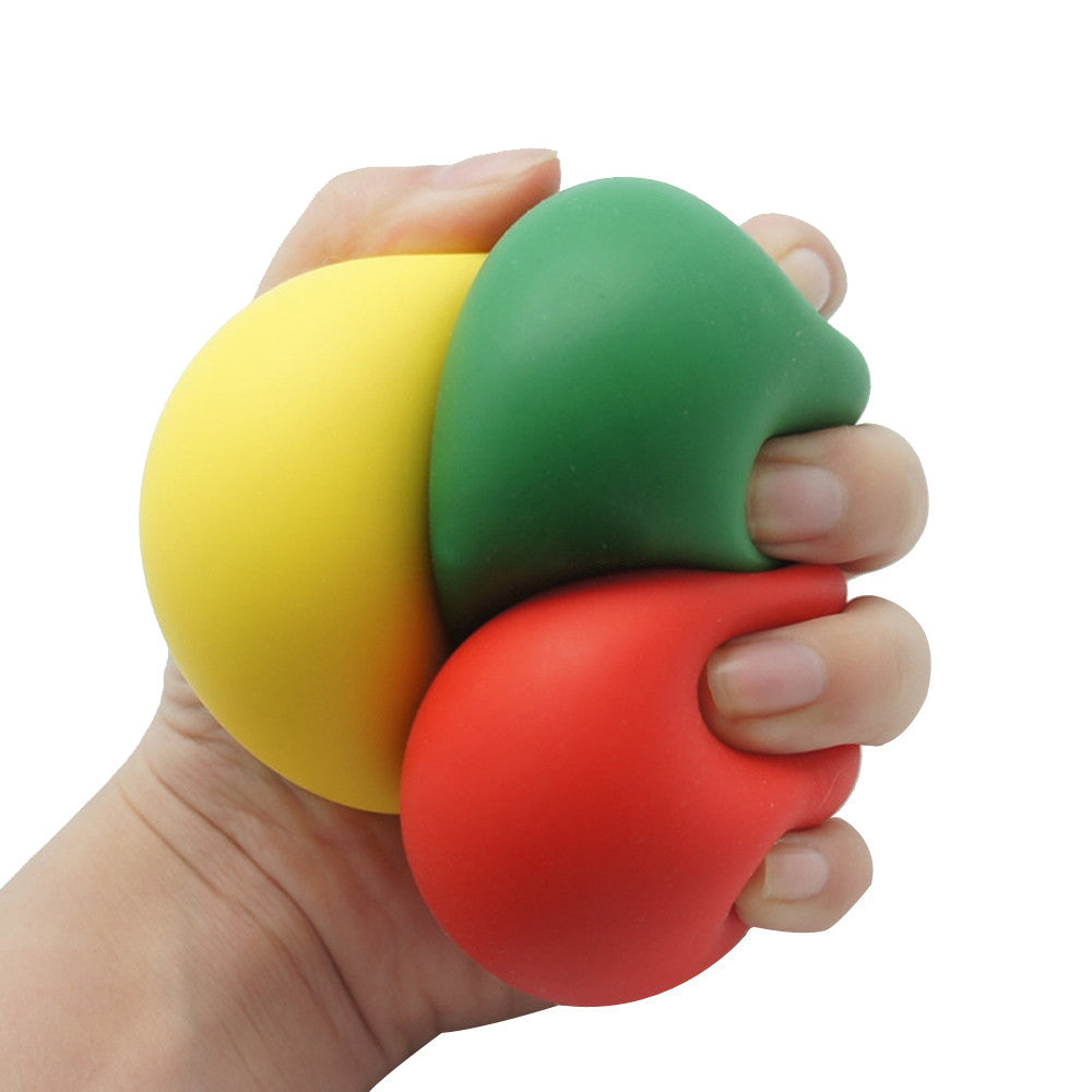 Kids stress reliever Low Resistance Squishy Stress Reliever Ball Autism Finger Fidget Exercise Toys drop shipping