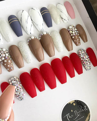Designer Press On Nails
