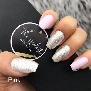 INSTANT GLAM- ANGEL SOFT- GLOSSY SOLID W SILVER GLITTER