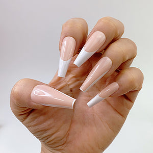 INSTANT GLAM- MIX N' MATCH - C-CURVE LONG COFFIN PRESS ON NAIL SET