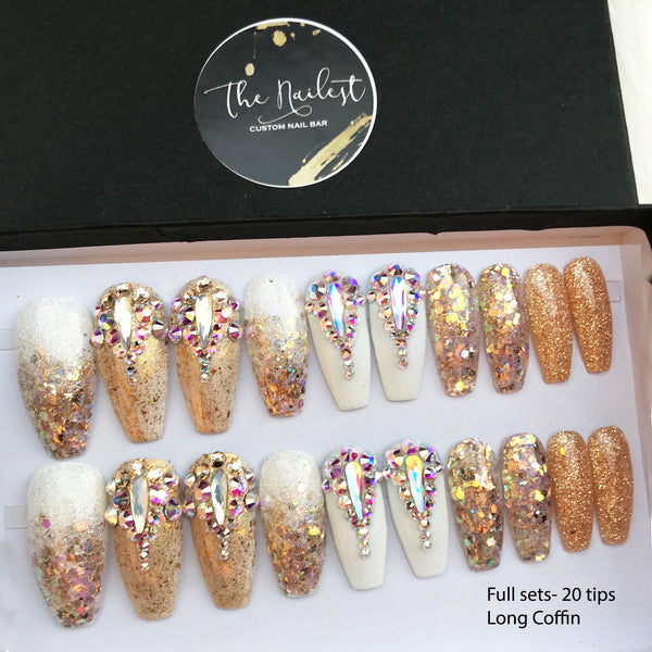 GOLD BARBIE OMBRE FAIRY DUST SET