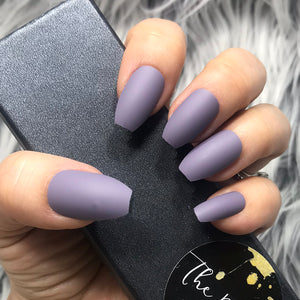 INSTANT GLAM- SOLID MATTE SMOKE COFFIN SET