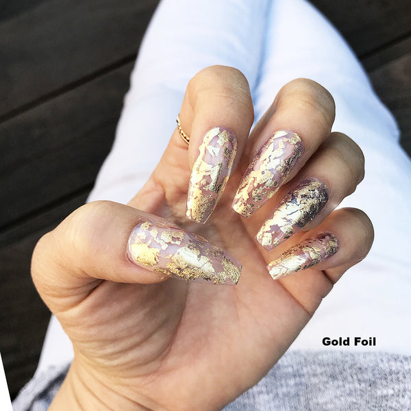 CLEAR TIP SCATTERED FOIL SET