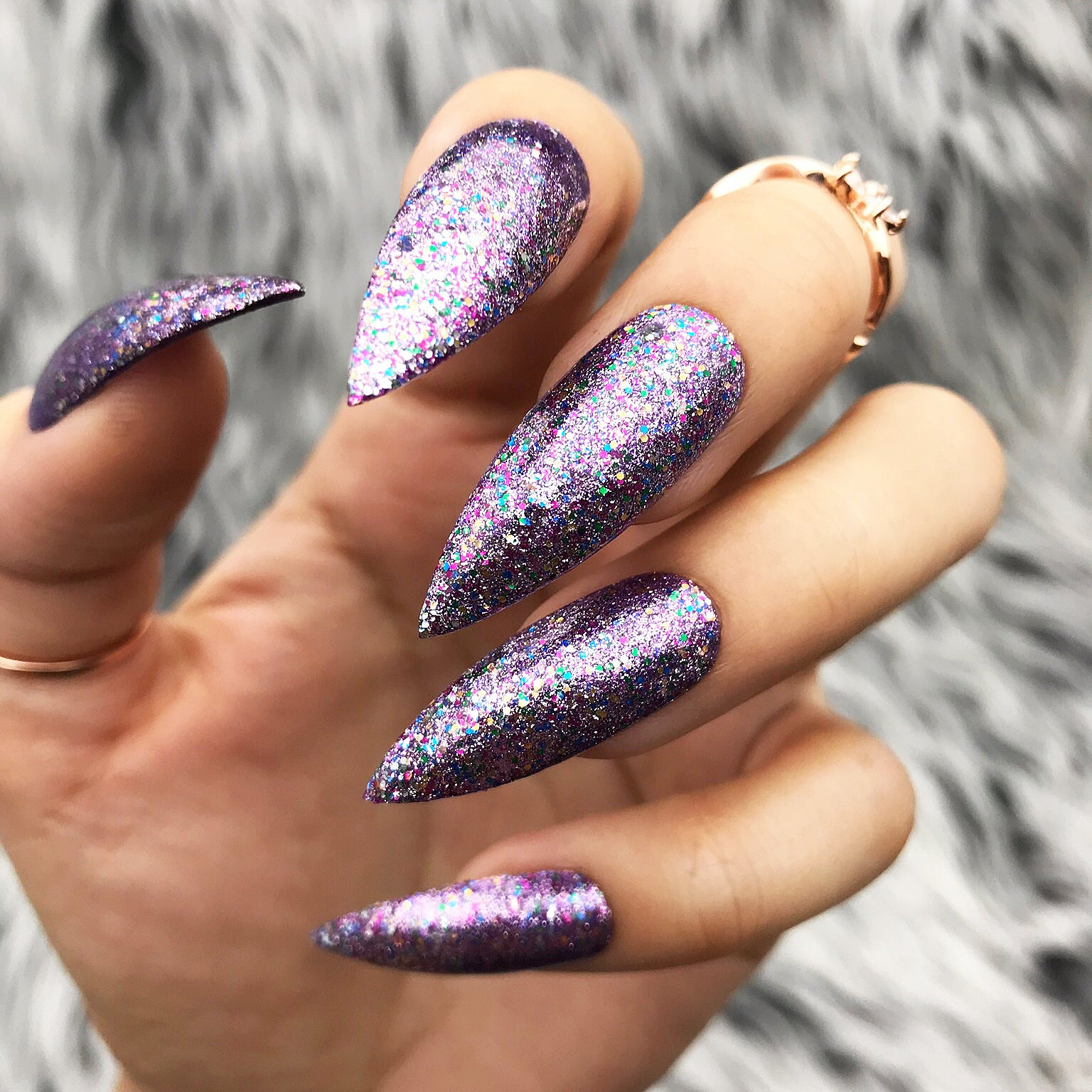 PARTYABLE MULTI SHIMMER MIXED GLITTER  GEL SET