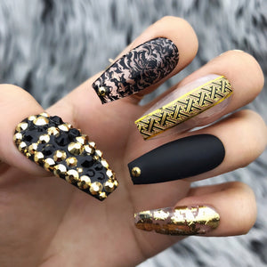 BLACK EGYPTIAN PRINCESS SET