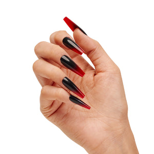 INSTANT LUXURY ACRYLIC PRESS ON NAILS- VAMP